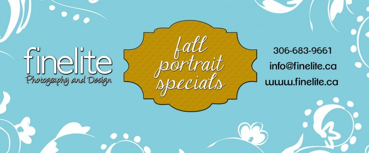 Fall Portrait Specials