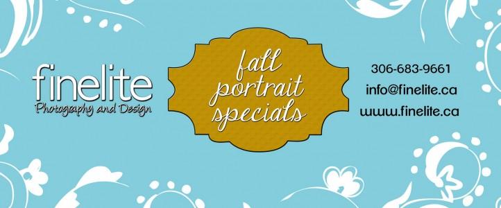 Fall Portrait Specials